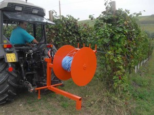 Vineyard rewinder