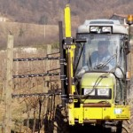 Vineyard prepruner equipment