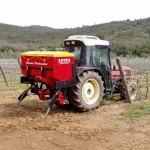 fertilizer spreader variable rate for vineyards