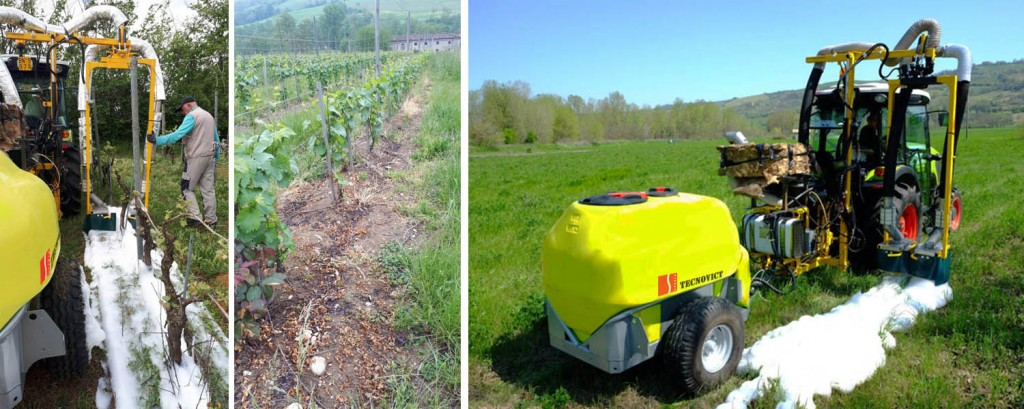 Ecological thermal weeding system