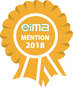 "Winner of the award ""Mention"" at EIMA International 2018"